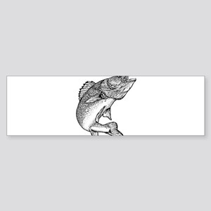 Walleye Bumper Sticker