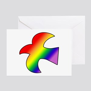 GLBT Dove Greeting Cards (10)