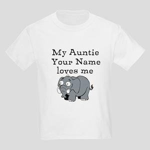 My Auntie Loves Me Elephant (Custom) T-Shirt