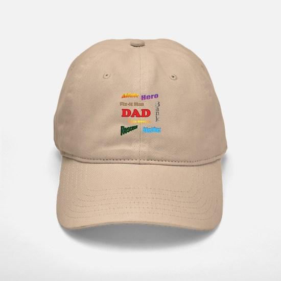Dad Baseball Baseball Cap
