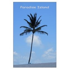 Bahamas Palm Tree - Large Poster