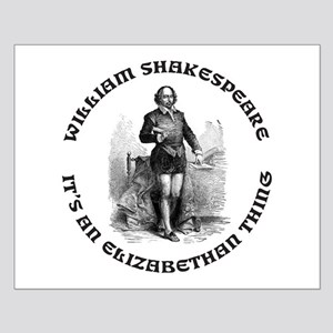 WILLIAM SHAKESPEARE T-SHIRTS Small Poster