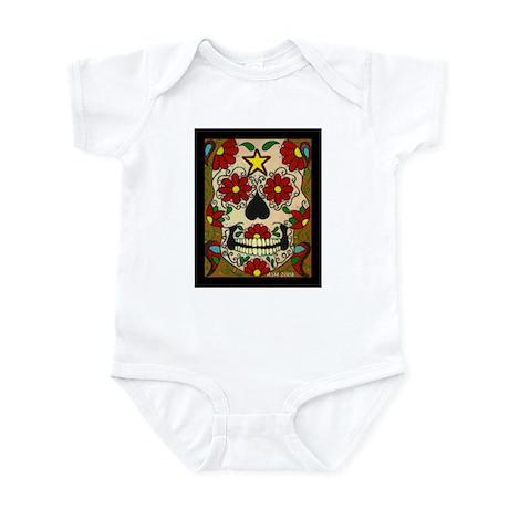 Day of the Dead Skull Infant Bodysuit
