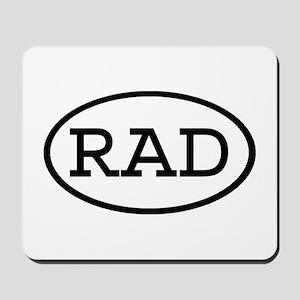 RAD Oval Mousepad