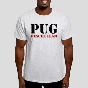 Pug Rescue Team Light T-Shirt