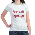 Future Child Psychologist Jr. Ringer T-Shirt