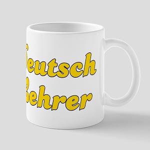 Retro Deutsch Leh.. (Gold) Mug