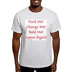 Feed Me... Ash Grey T-Shirt