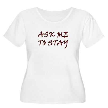askstay Plus Size T-Shirt