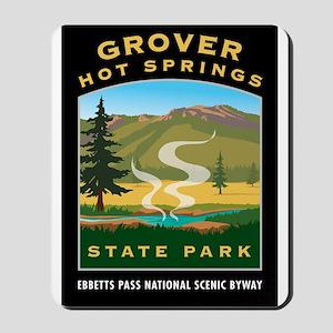 Grover Hot Springs - Mousepad