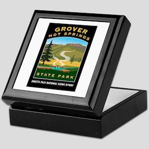 Grover Hot Springs - Keepsake Box