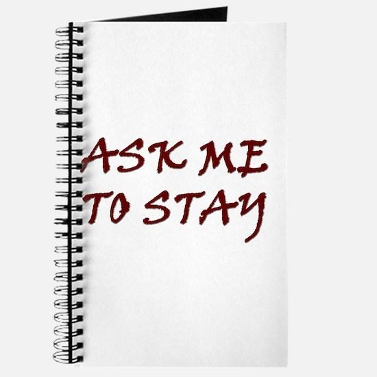 Cute Ask me Journal