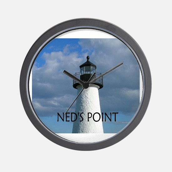 Ned's Point Lighthouse Wall Clock