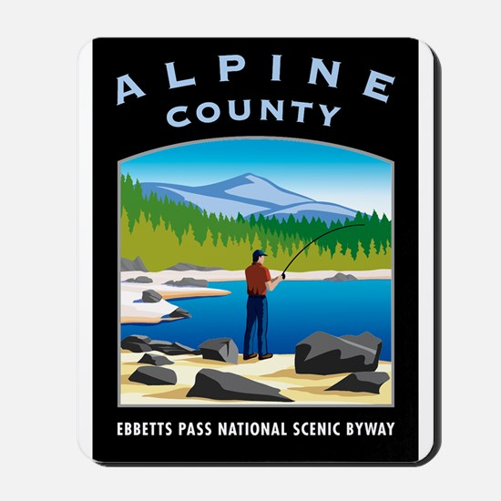 Alpine County - Mousepad