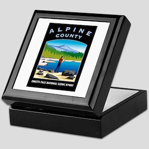 Alpine County - Keepsake Box