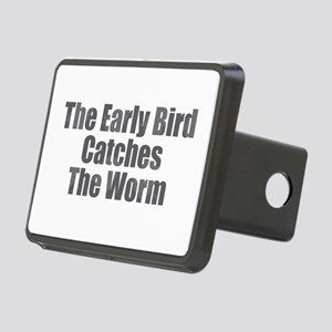 The Early Bird Rectangular Hitch Cover
