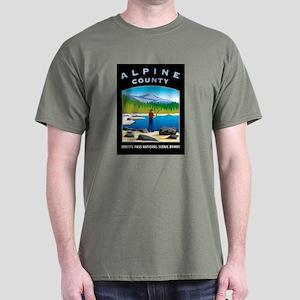 Alpine County - Dark T-Shirt