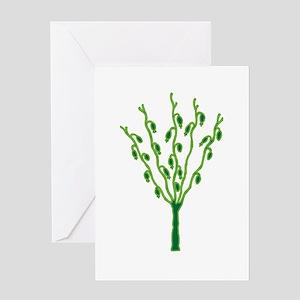 Navajo Tree (of Life) Greeting Card
