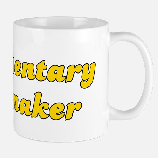 Retro Documentary.. (Gold) Mug