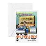 Dick Twang Band Greeting Cards (Pk of 10)