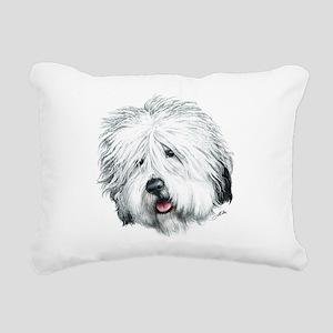 Sweet Sheepie Rectangular Canvas Pillow