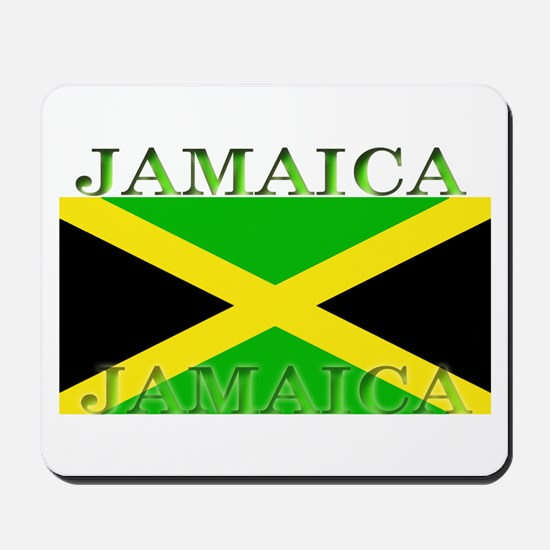 Jamaica Jamaican Flag Mousepad