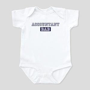 Accountant dad Infant Bodysuit