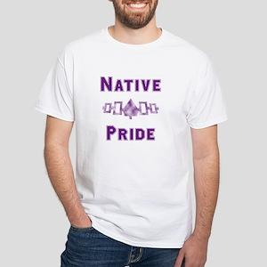 Hiawatha Native Pride White T-Shirt
