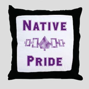 Hiawatha Native Pride Throw Pillow