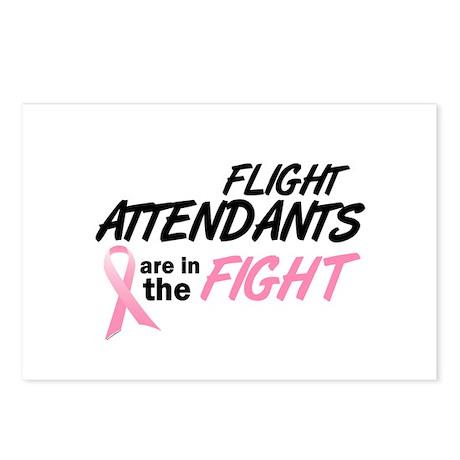 Flight Attendants In The Fight Postcards (Package