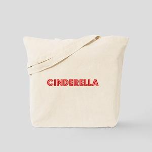 Retro Cinderella (Red) Tote Bag