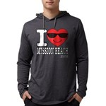 I Love Mission Beach Long Sleeve T-Shirt