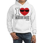 I Love Mission Beach Sweatshirt
