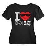 I Love Mission Beach Plus Size T-Shirt