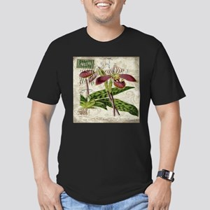 vintage orchid french botanical T-Shirt