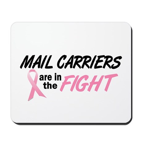 Mail Carriers In The Fight Mousepad