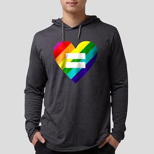 Rainbow love heart Long Sleeve T-Shirt