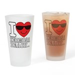 i Love Hermosa Beach Drinking Glass