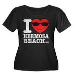 i Love Hermosa Beach Plus Size T-Shirt