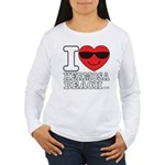 i Love Hermosa Beach Long Sleeve T-Shirt