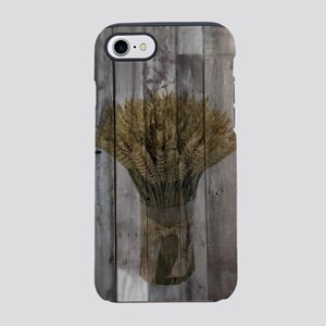barnwood wheat western count iPhone 8/7 Tough Case