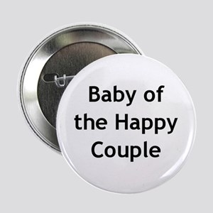 Baby of the Happy Couple Button