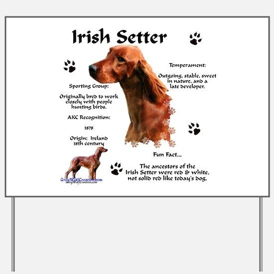 Irish Setter 1 Yard Sign