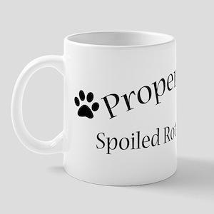 Spoiled Rotten Scottie Mug