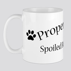 Spoiled Rotten Pug Mug