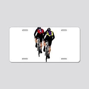 cyclists Aluminum License Plate