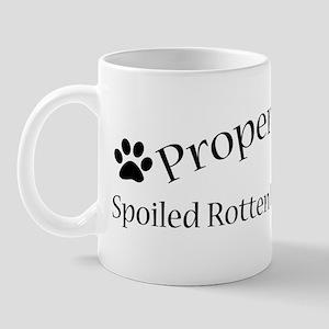 Spoiled Rotten Newfie Mug
