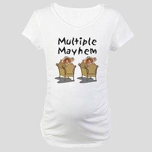 MULTIPLE MAYHEM Maternity T-Shirt