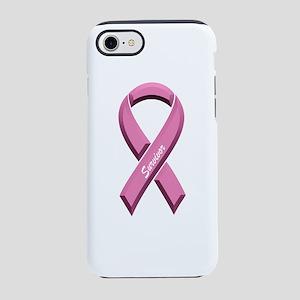 Pink Survivor Ribbon iPhone 8/7 Tough Case