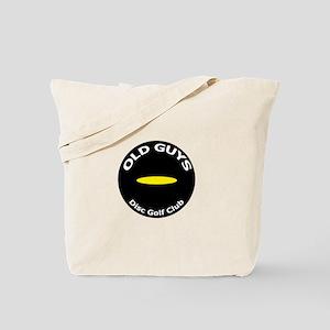 Old Guys Disc Golf Club Tote Bag